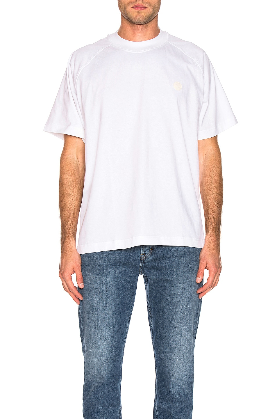 Image 1 of Acne Studios Bassetty Uni Tee in White