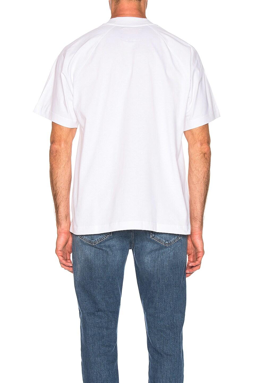 Image 3 of Acne Studios Bassetty Uni Tee in White