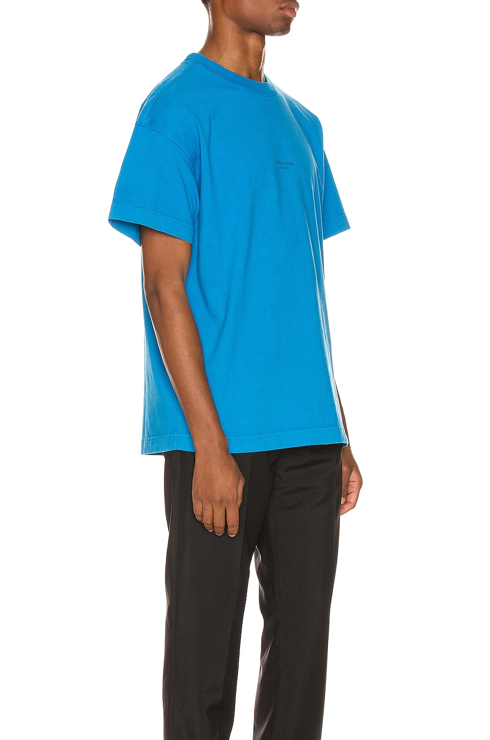 Image 2 of Acne Studios Jaxon Tee in Electric Blue