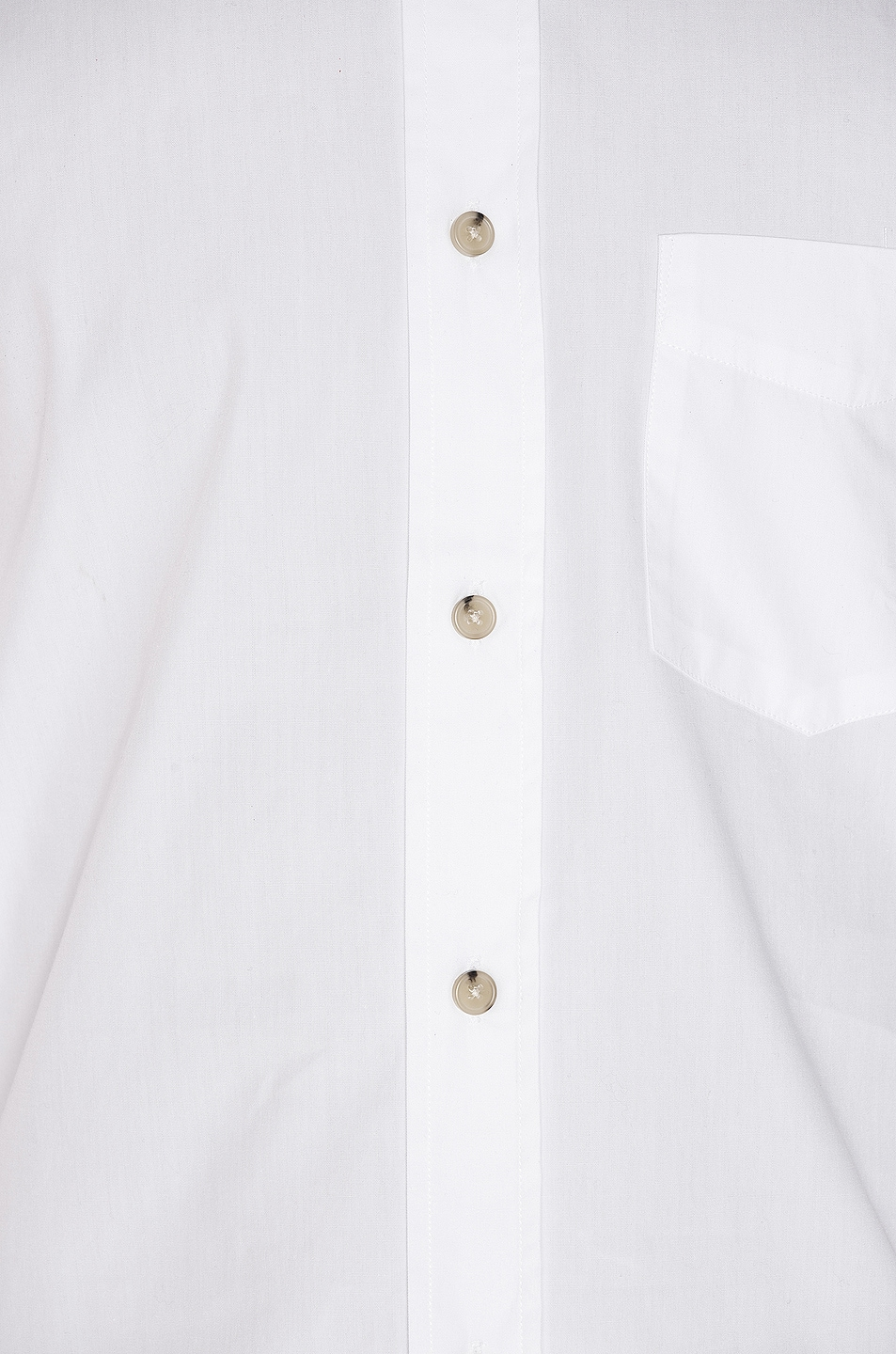 Image 5 of Acne Studios Isherwood Soft Pop Shirt in Optic White