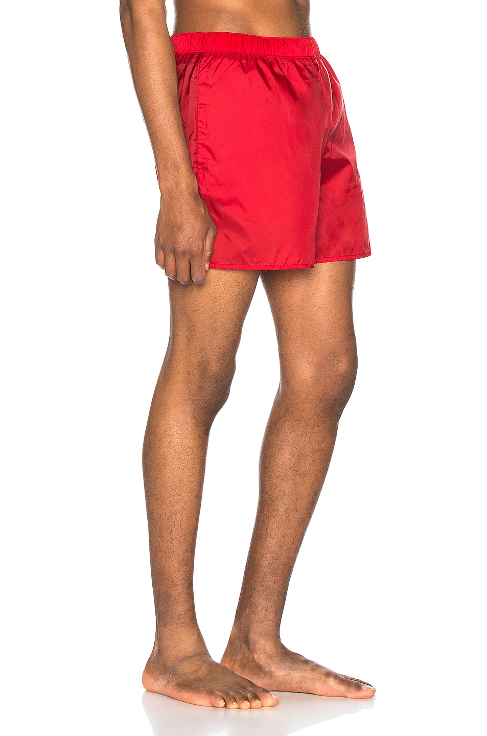 Image 2 of Acne Studios Warrick Nylon Swim Shorts in Cardinal Red