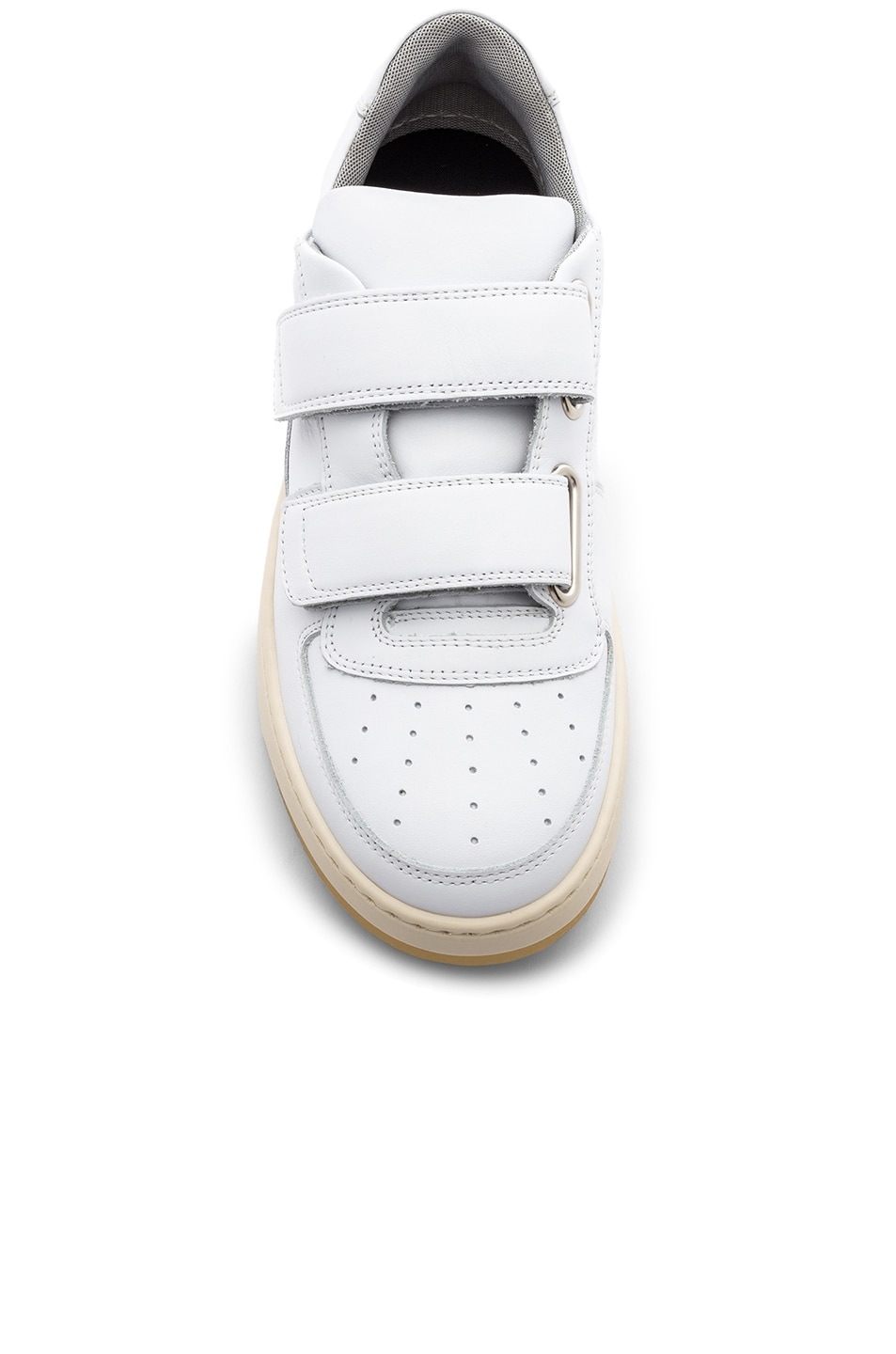 Image 4 of Acne Studios Leather Pete Sneakers in White