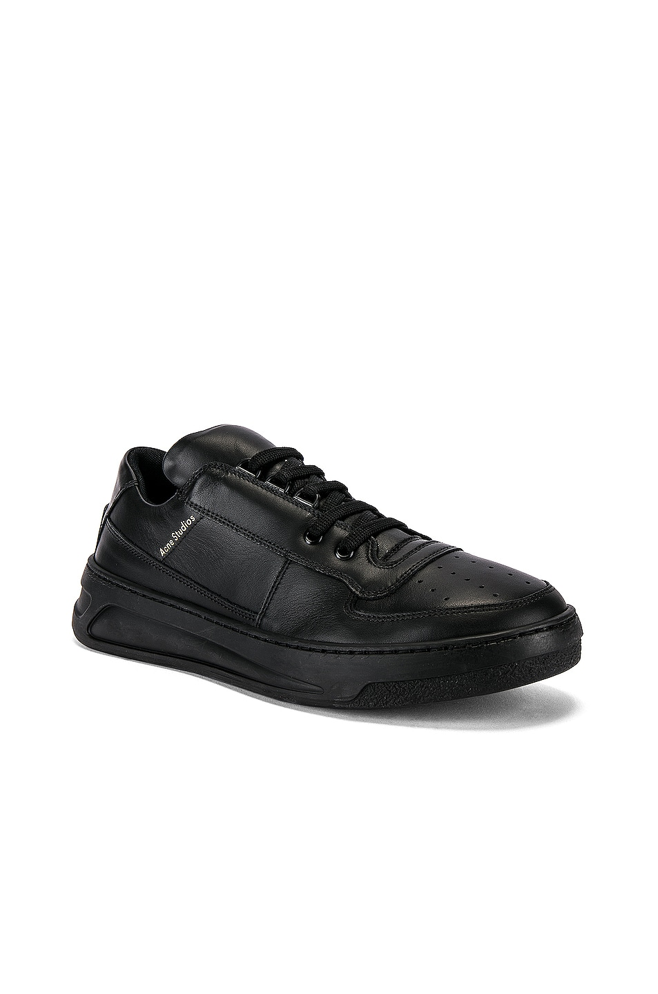 Image 1 of Acne Studios Perey Lace Up Sneakers in Black