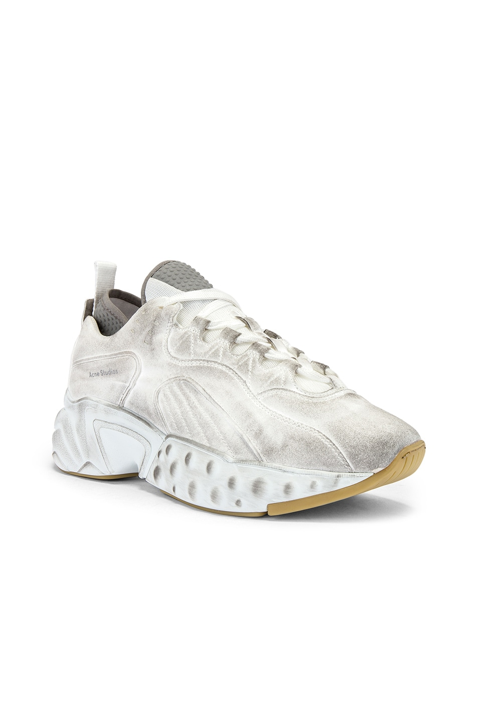 Image 1 of Acne Studios Tumbled Rockaway in White