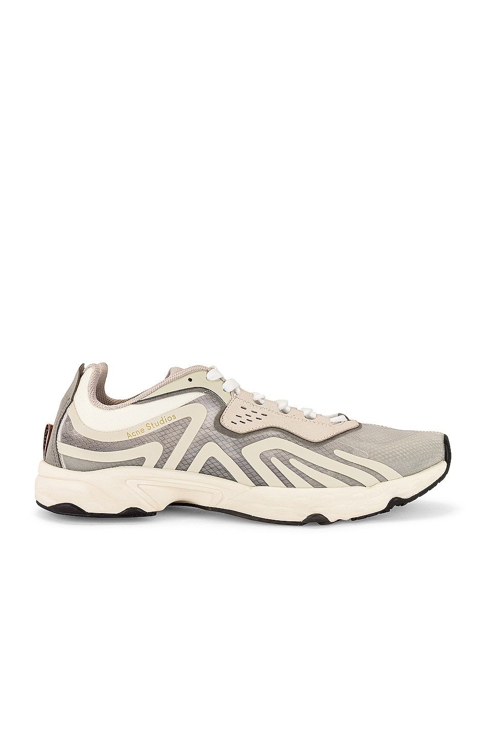 Image 1 of Acne Studios Trail Sneakers in White & Ivory