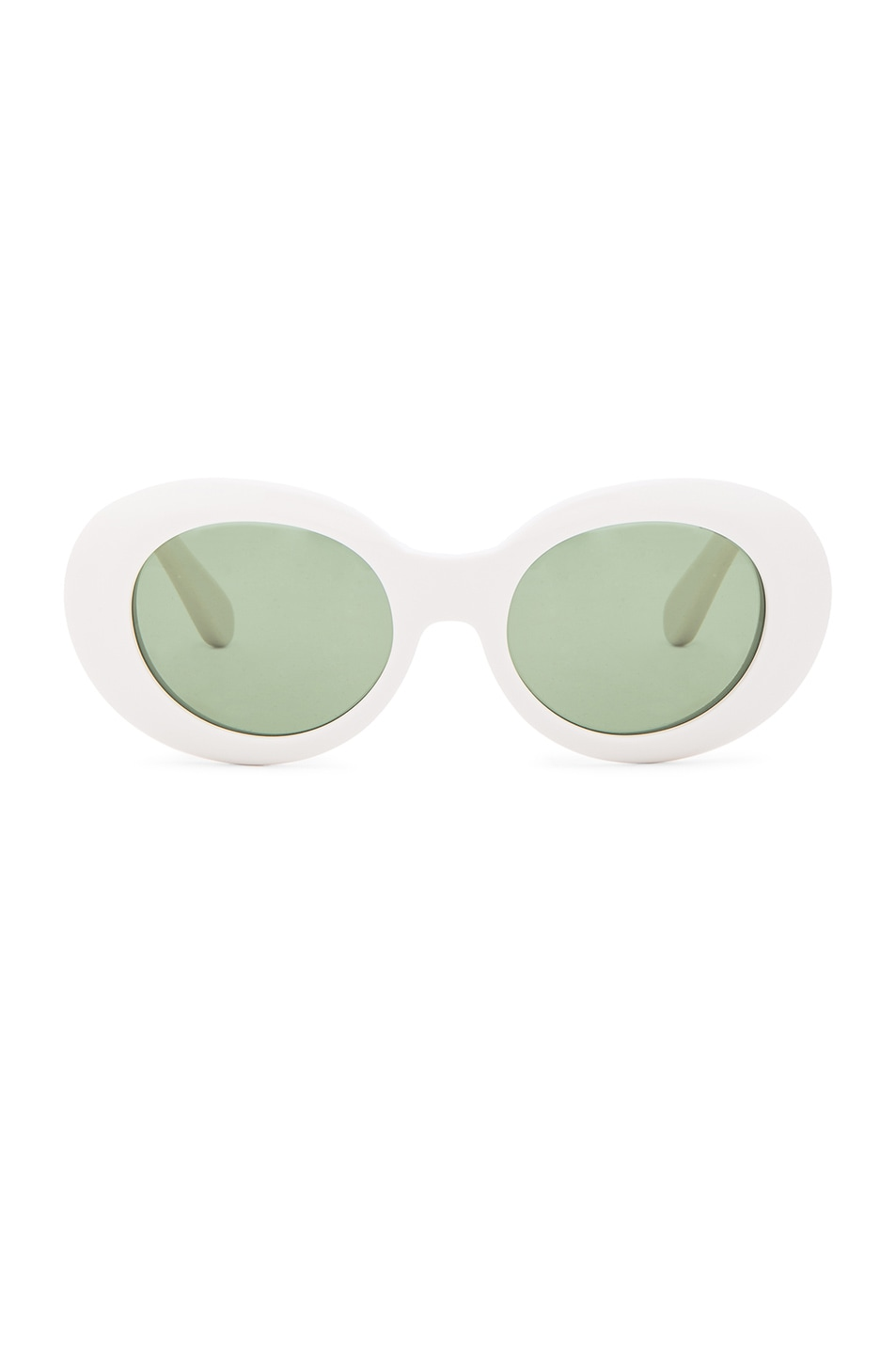 Image 1 of Acne Studios Mustang Sunglasses in Off White