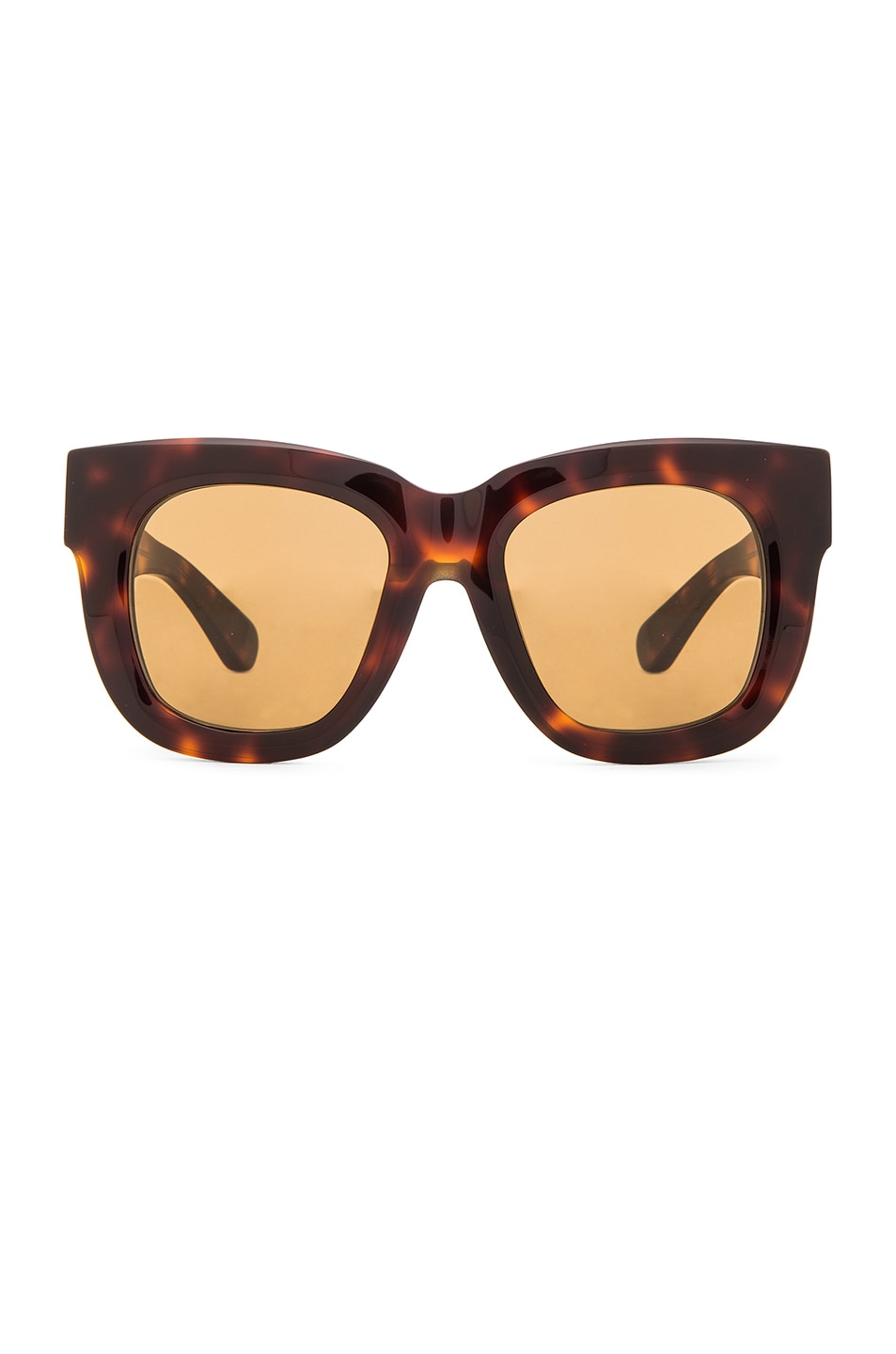 Image 1 of Acne Studios Library Sunglasses in Turtle