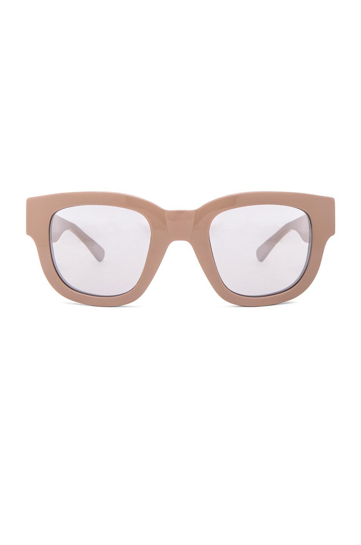 Acne Studios Frame A Sunglasses in Make Up | FWRD