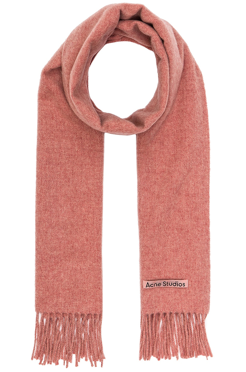 Image 1 of Acne Studios Canada Narrow Scarf in Rose Melange