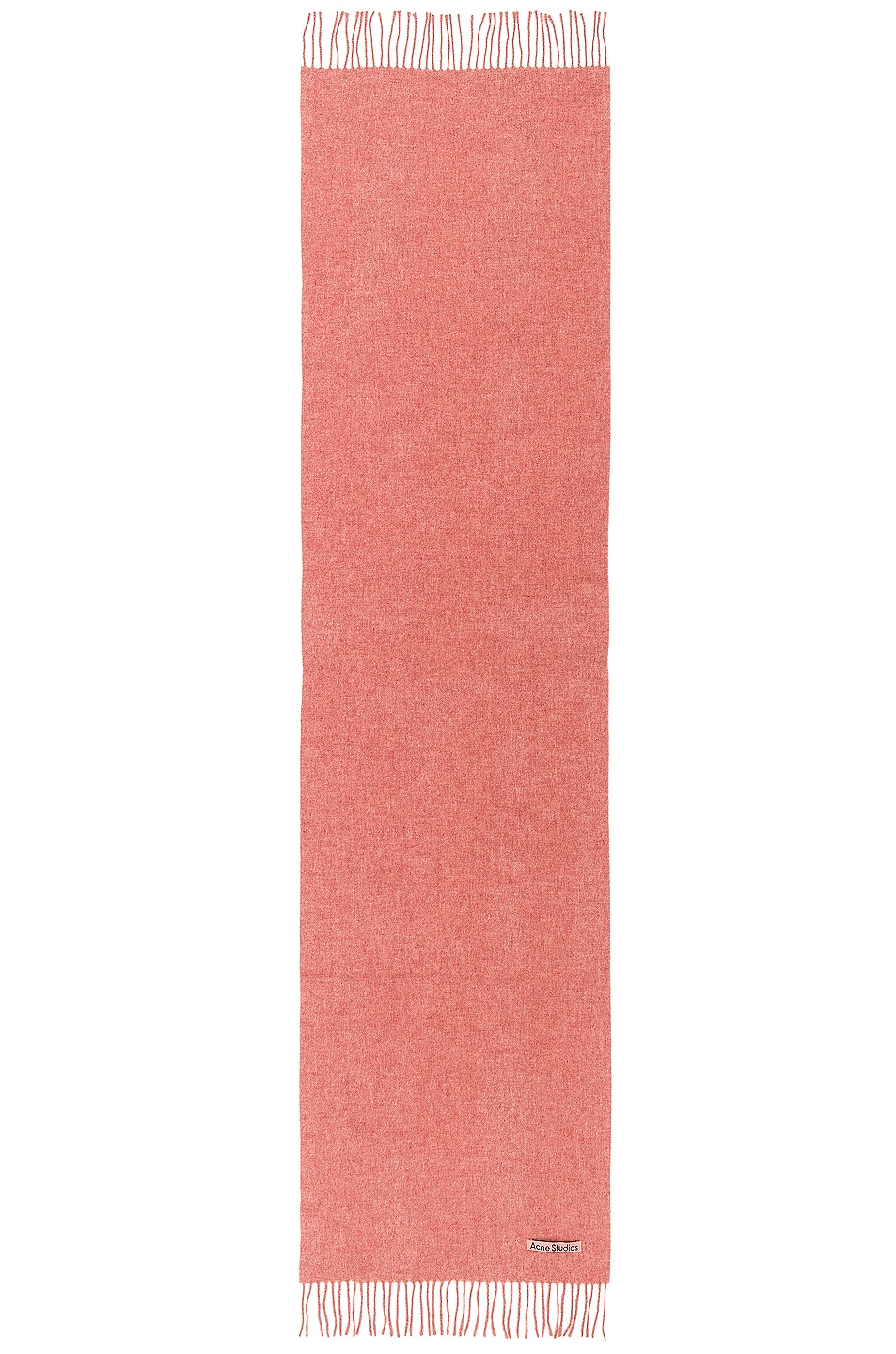 Image 2 of Acne Studios Canada Narrow Scarf in Rose Melange