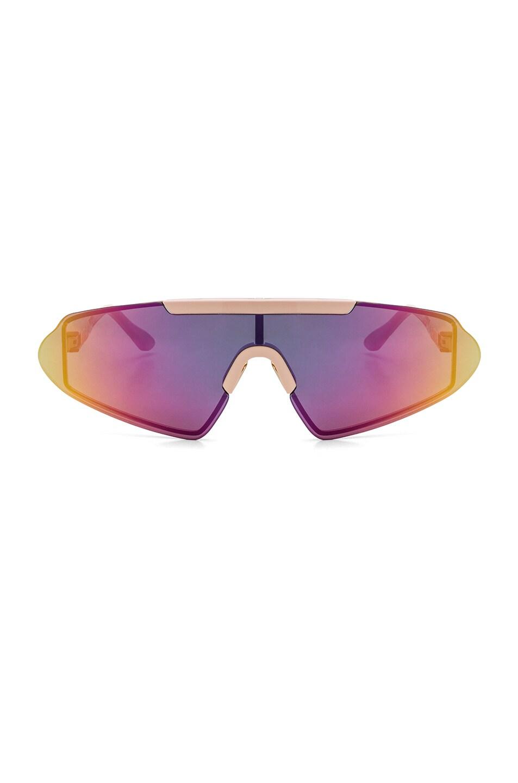 37bf027de3 Image 1 of Acne Studios Bornt Sunglasses in Pink   Multicolor