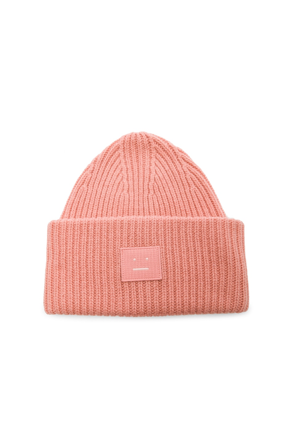 Image 1 of Acne Studios Pansy Face Beanie in Pale Pink