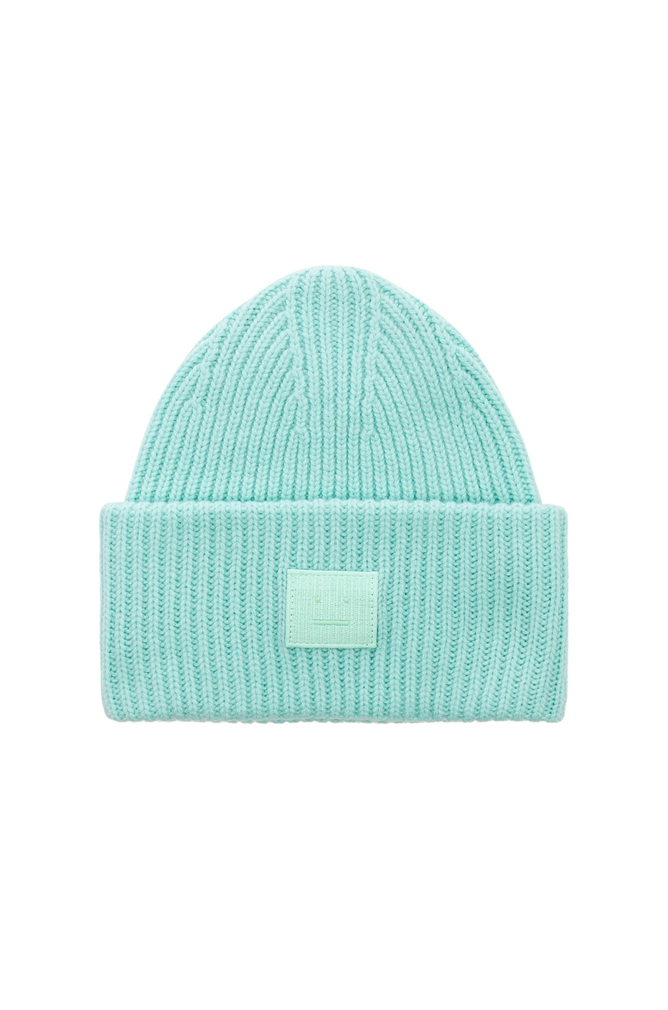 c93a8087 Image 1 of Acne Studios Pansy Face Beanie in Mint Green