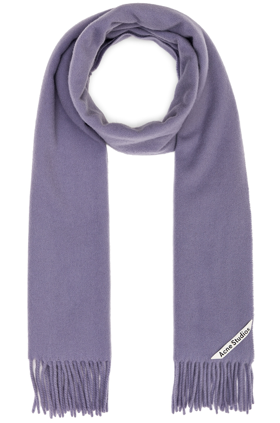 Image 1 of Acne Studios Canada Narrow Scarf in Mineral Blue