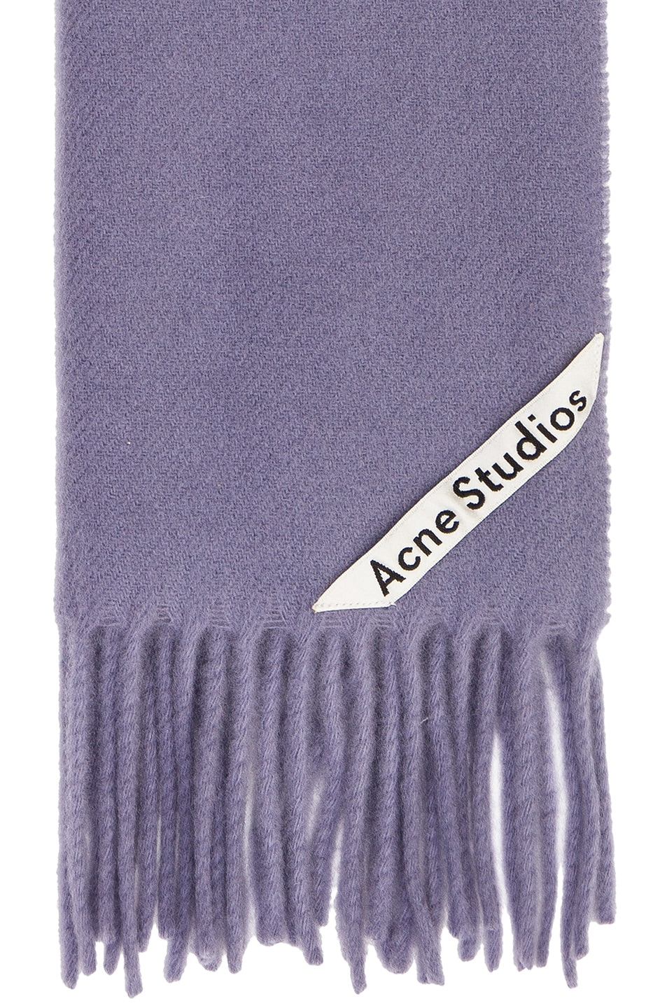 Image 3 of Acne Studios Canada Narrow Scarf in Mineral Blue