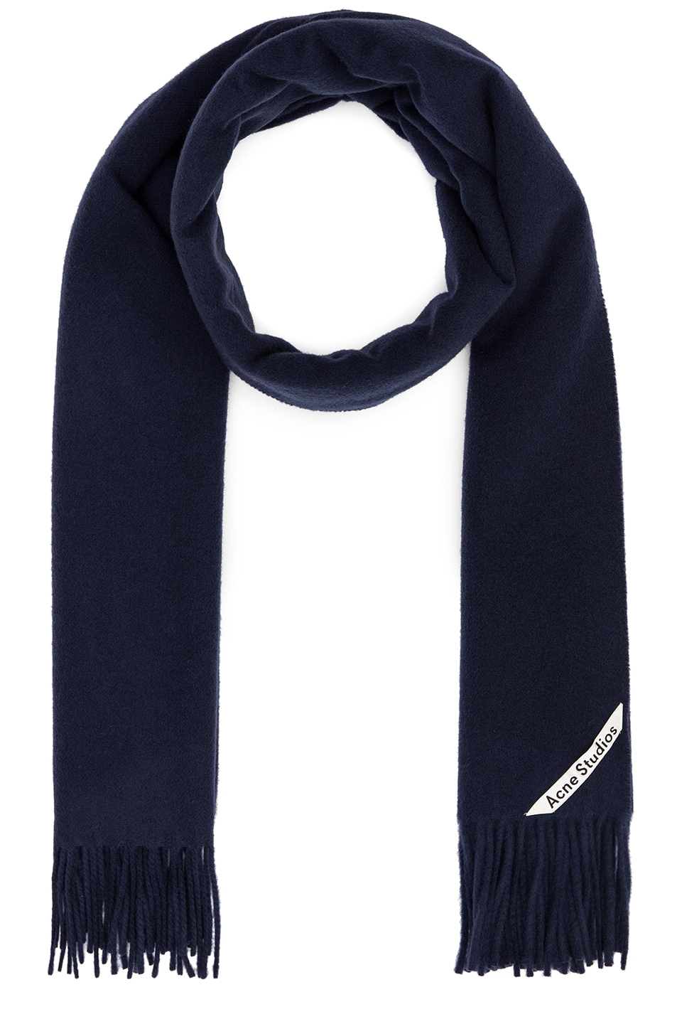 Image 1 of Acne Studios Canada Scarf in Navy