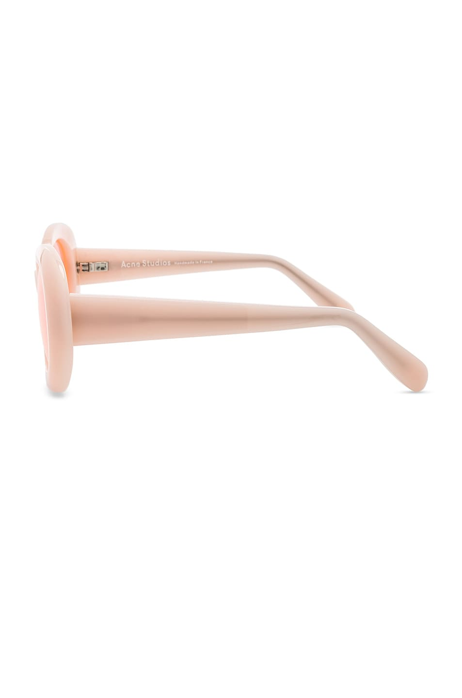 Image 3 of Acne Studios Mustang Sunglasses in Pink & Fluo Pink