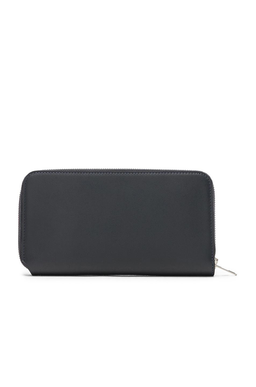 Image 2 of Acne Studios Fluorite Wallet in Dark Blue
