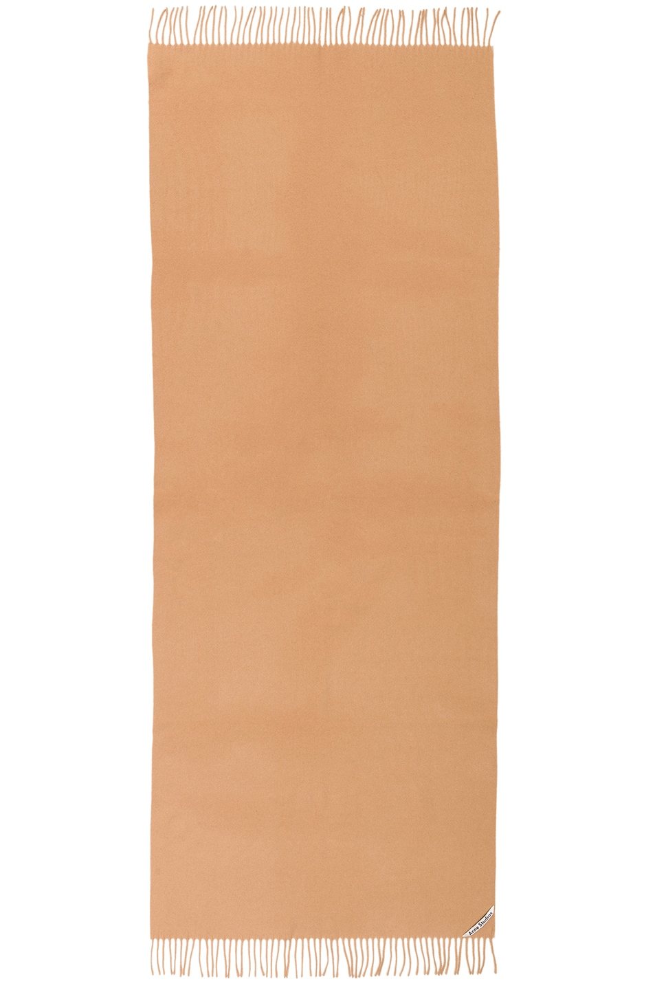 Image 2 of Acne Studios Canada Scarf in Camel Brown