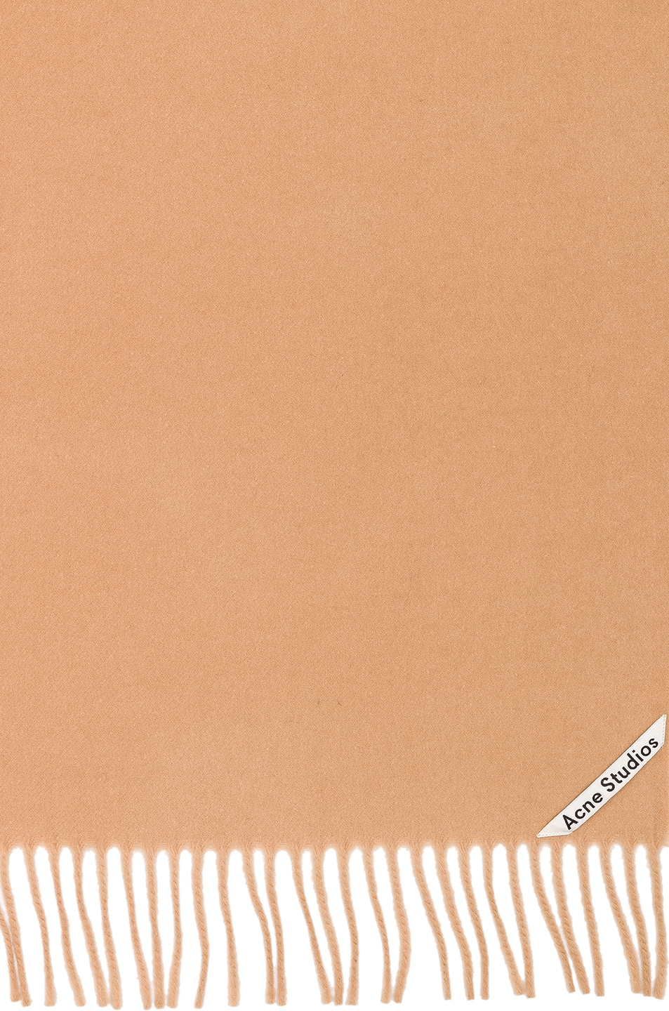 Image 3 of Acne Studios Canada Scarf in Camel Brown