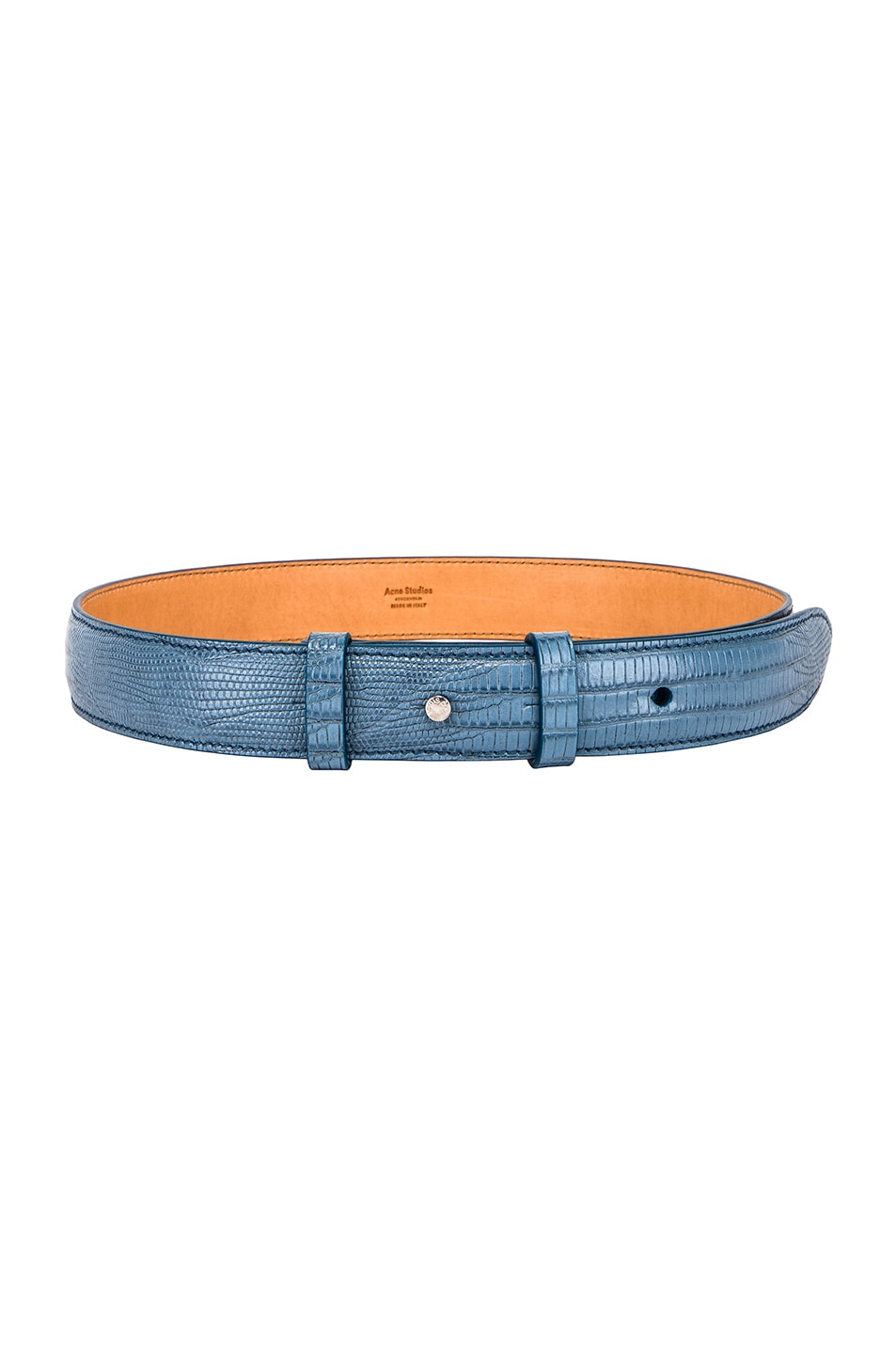 Image 2 of Acne Studios Anemone Belt in Light Blue