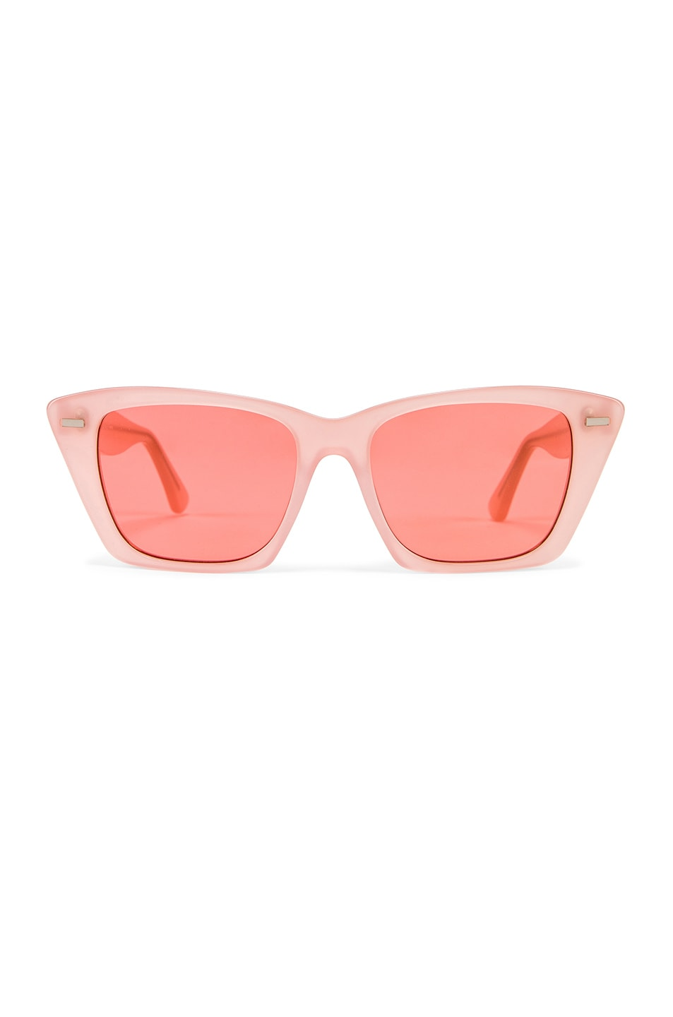 Image 1 of Acne Studios Ingridh Sunglasses in Pink & Pink