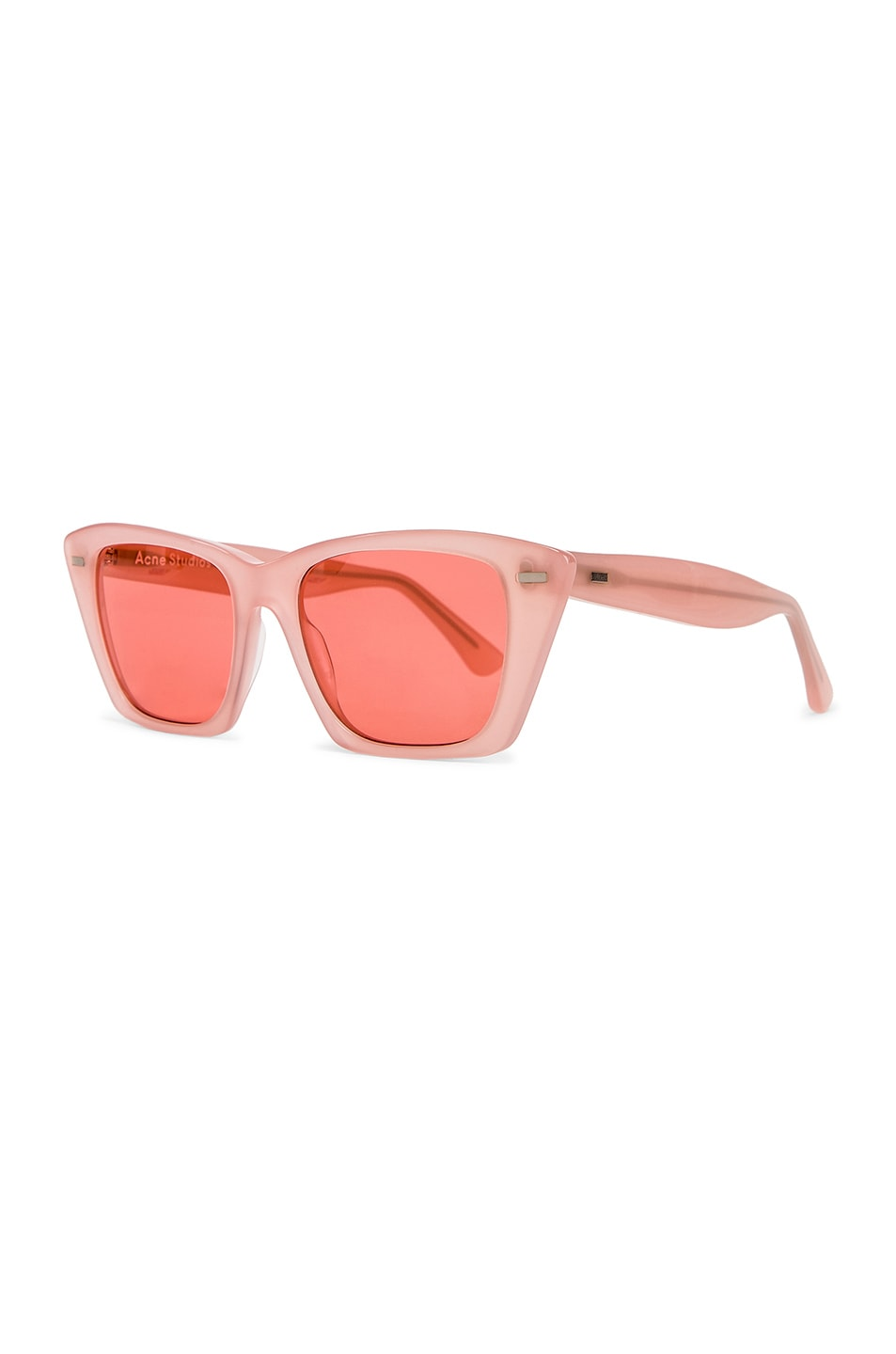 Image 2 of Acne Studios Ingridh Sunglasses in Pink & Pink