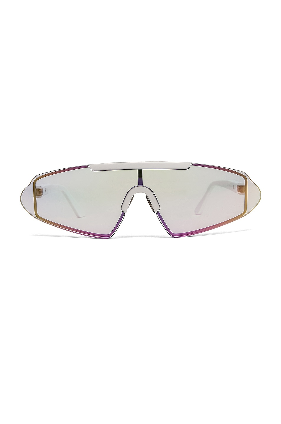 Image 1 of Acne Studios Bornt Sunglasses in White & Pink