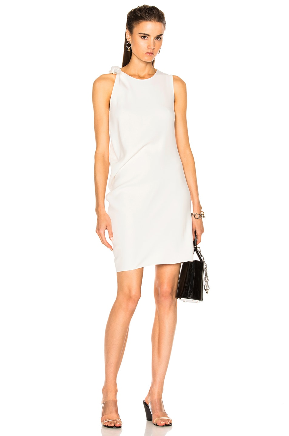 Image 1 Of Acne Studios Sail Dress In White