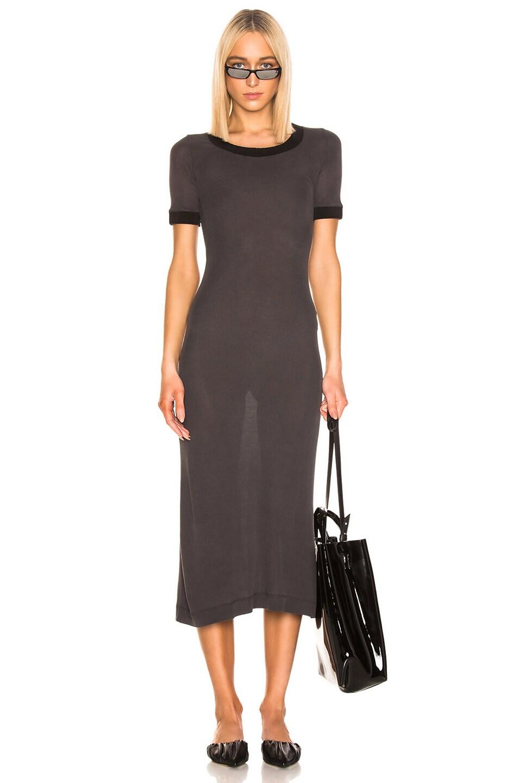 Image 1 of Acne Studios Elaine Dress in Washed Black