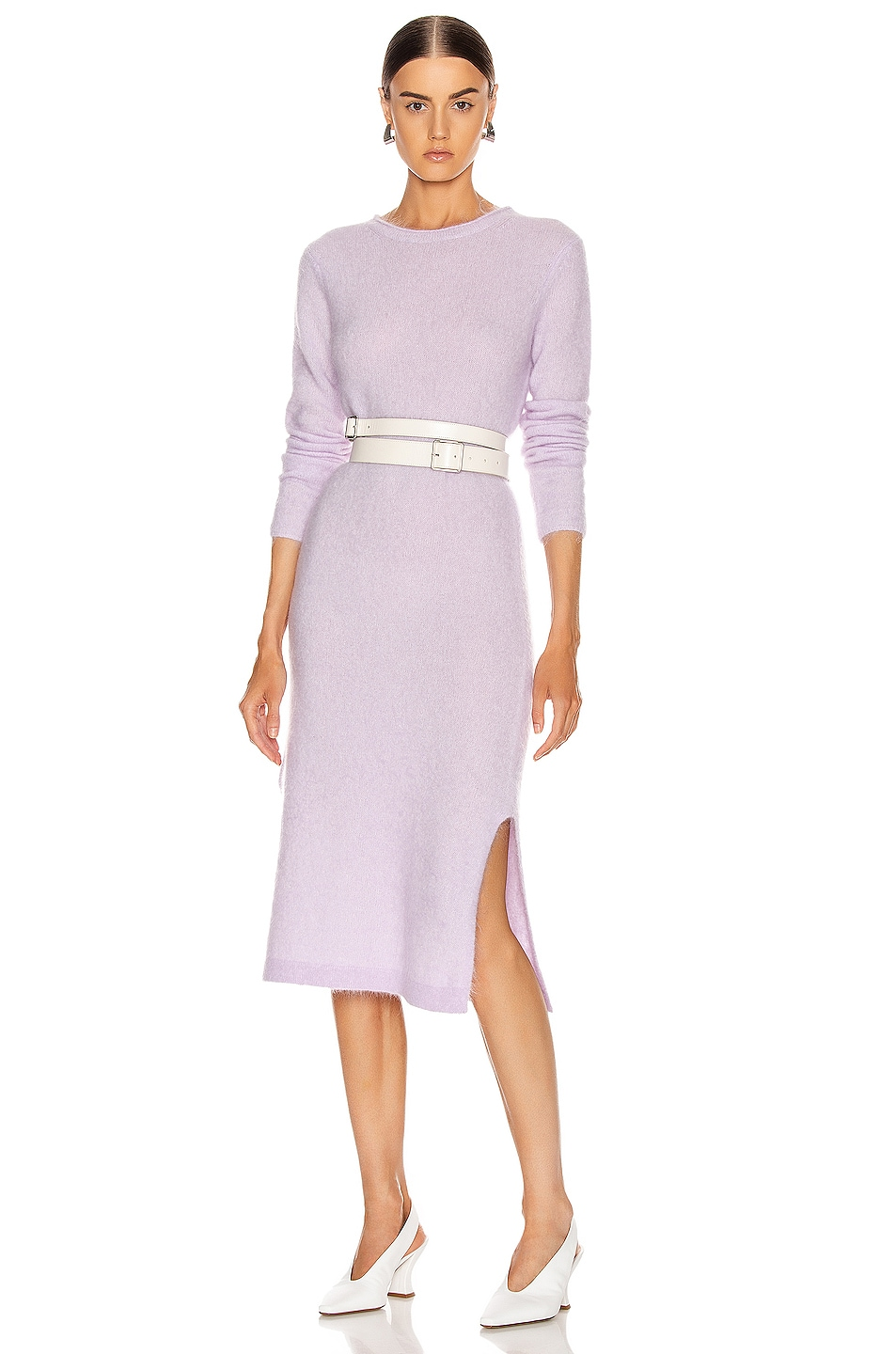 Image 1 of Acne Studios Kathilde Dress in Lilac