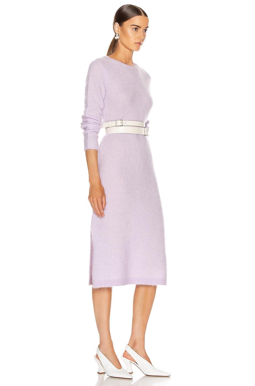Image 2 of Acne Studios Kathilde Dress in Lilac