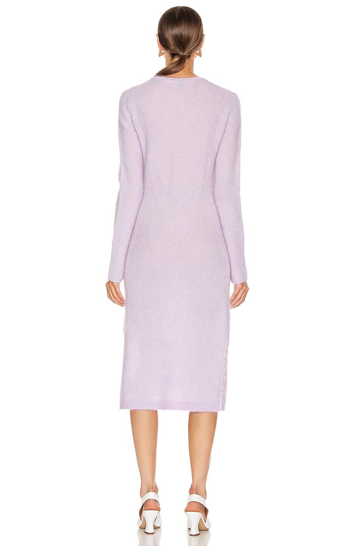 Image 3 of Acne Studios Kathilde Dress in Lilac