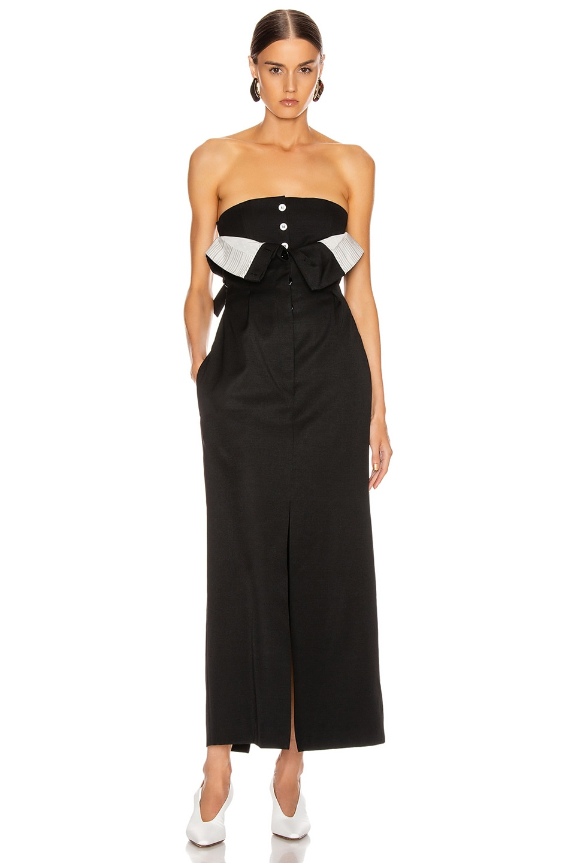 Image 1 of Acne Studios Dagila Suit Dress in Black
