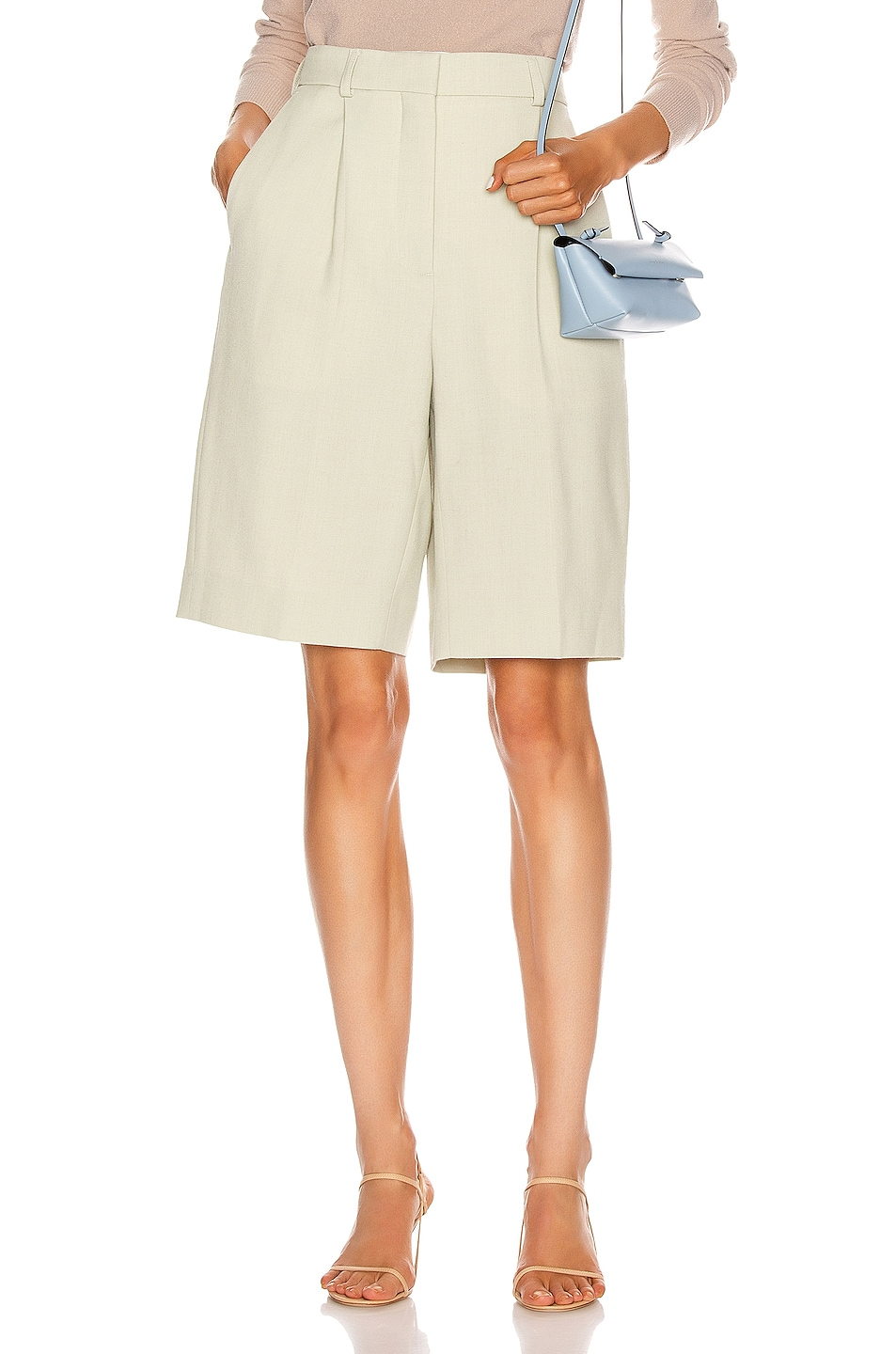 Image 1 of Acne Studios Tailored Short in Pastel Green