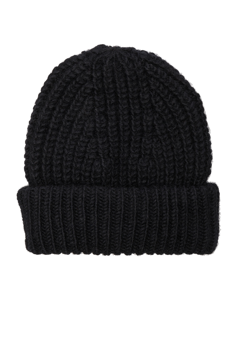 Image 1 of Acne Studios Hoy Chunky Hat in Black