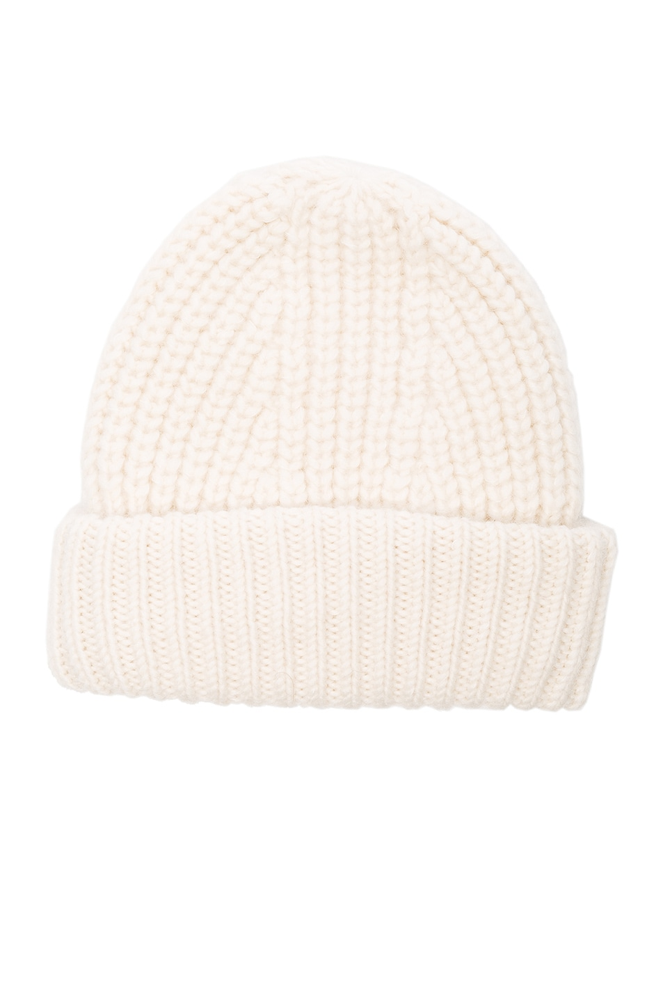 Image 1 of Acne Studios Hoy Chunky Hat in Off White