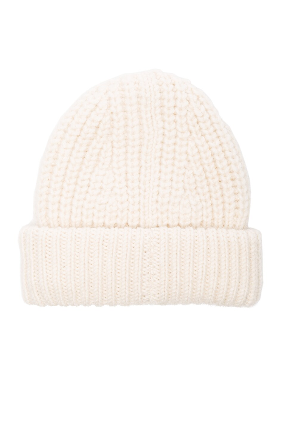 Image 2 of Acne Studios Hoy Chunky Hat in Off White