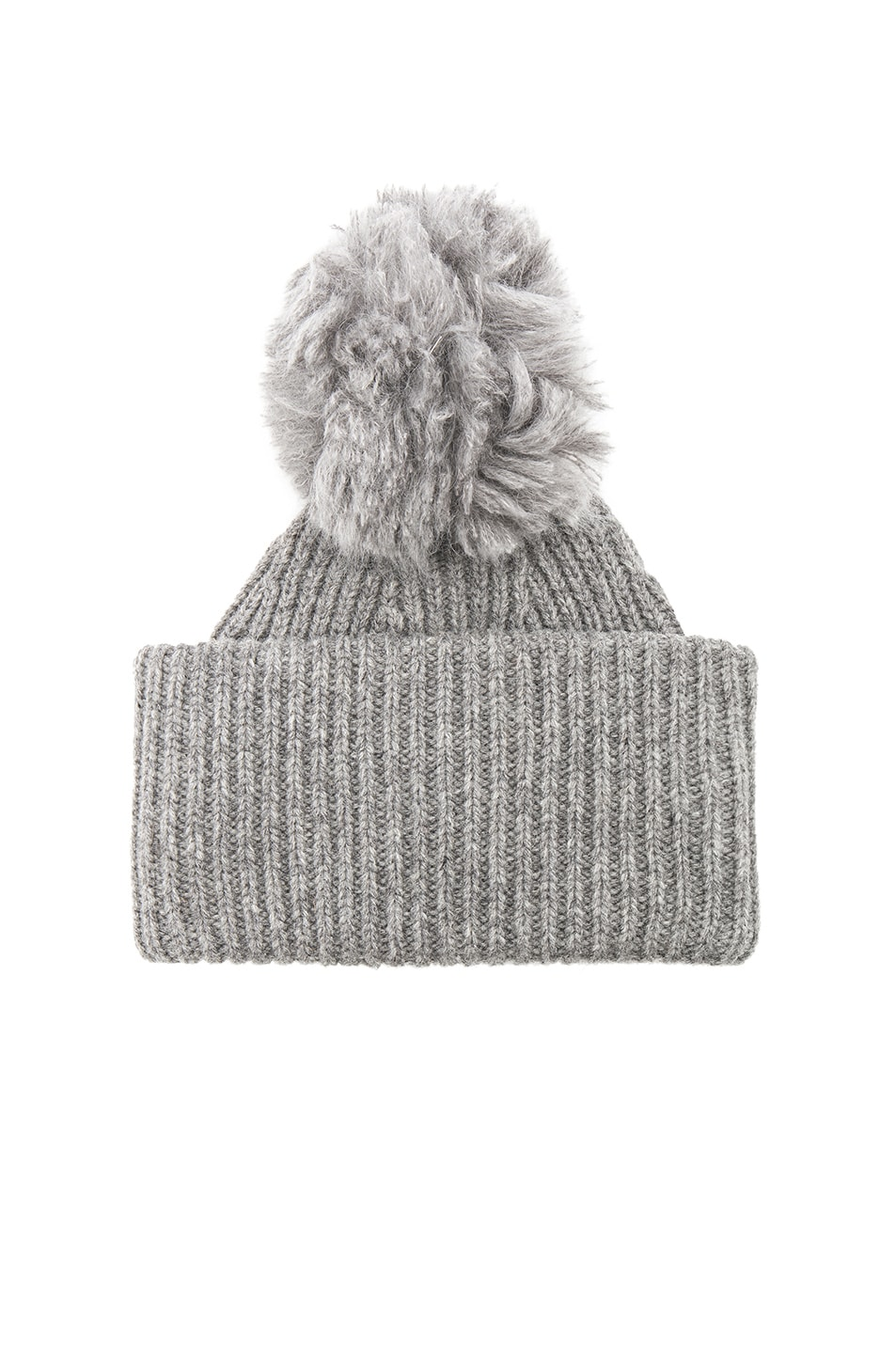 9281c7bad94 Image 1 of Acne Studios Solia Beanie in Steel Grey