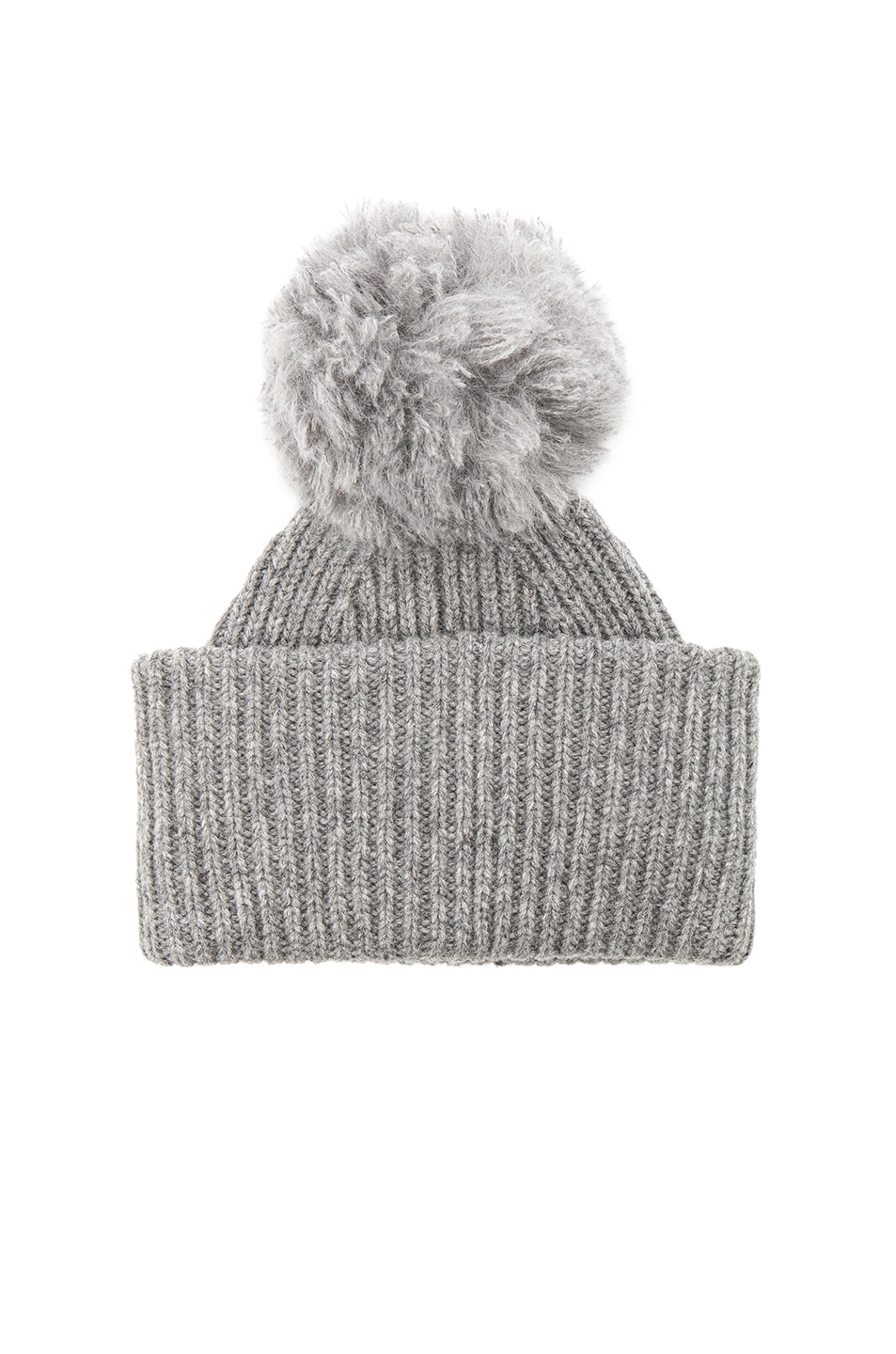 20a7a6ad878 Image 2 of Acne Studios Solia Beanie in Steel Grey