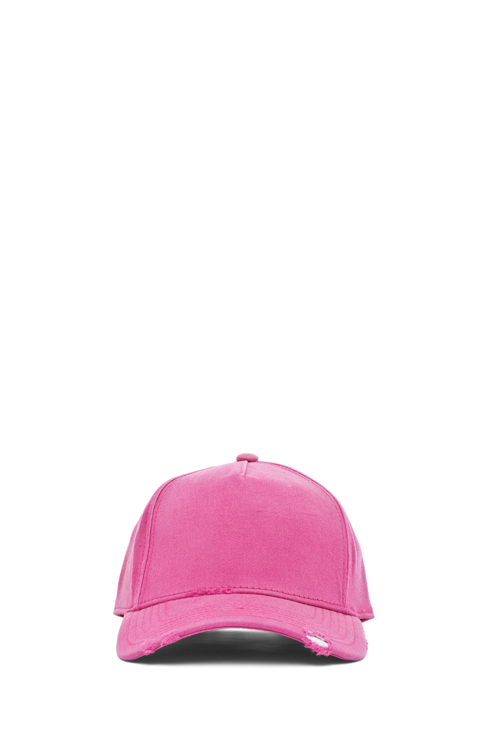 Image 1 of Acne Studios Clint Twill Ball Cap in Pink