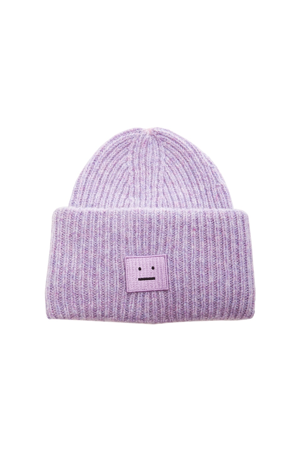 Image 1 of Acne Studios Pansy Hat in Dusty Lilac & Lavender
