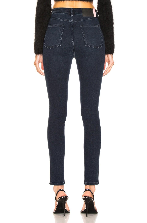 Image 3 of Acne Studios Bla Konst Peg Skinny in Blue Black