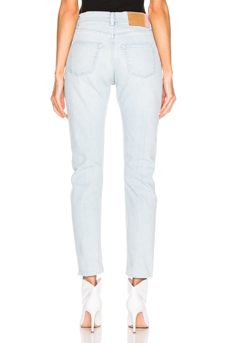 Image 3 of Acne Studios Melk Light Ripped Jean in Indigo