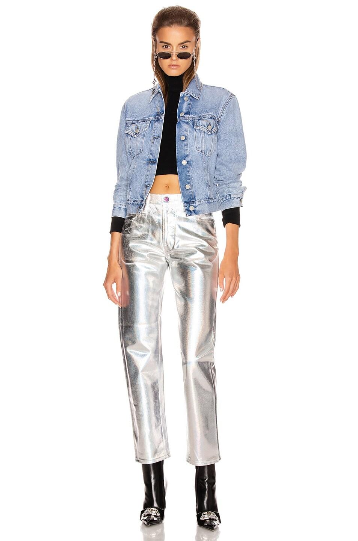Image 4 of Acne Studios Bla Konst 1997 Skinny in White & Holographic
