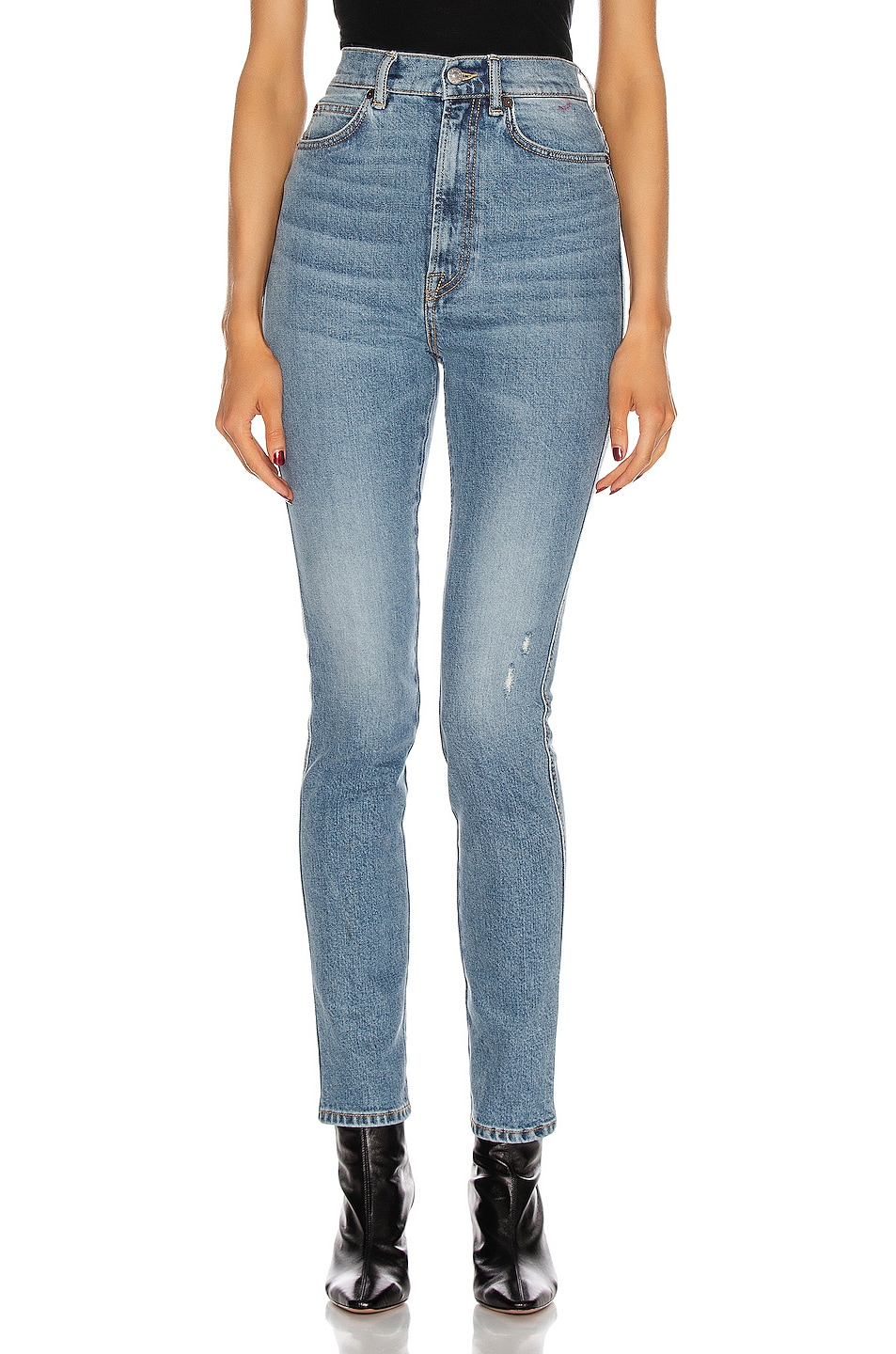 Image 1 of Acne Studios 1994 Super Skinny in Mid Blue
