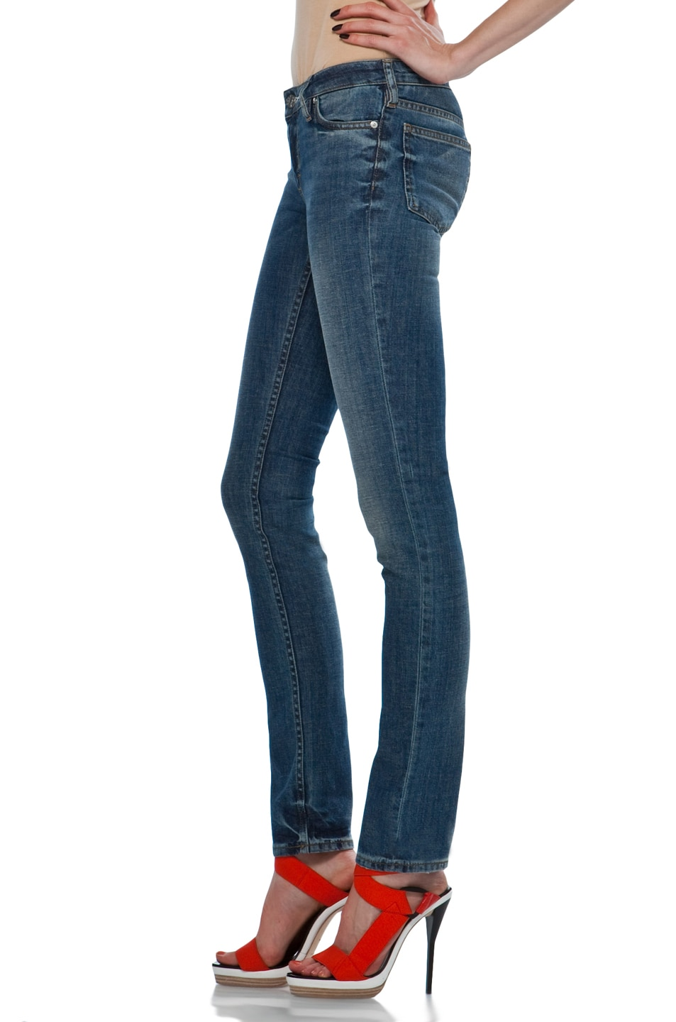 Image 2 of Acne Studios Kex Jeans in Vintage