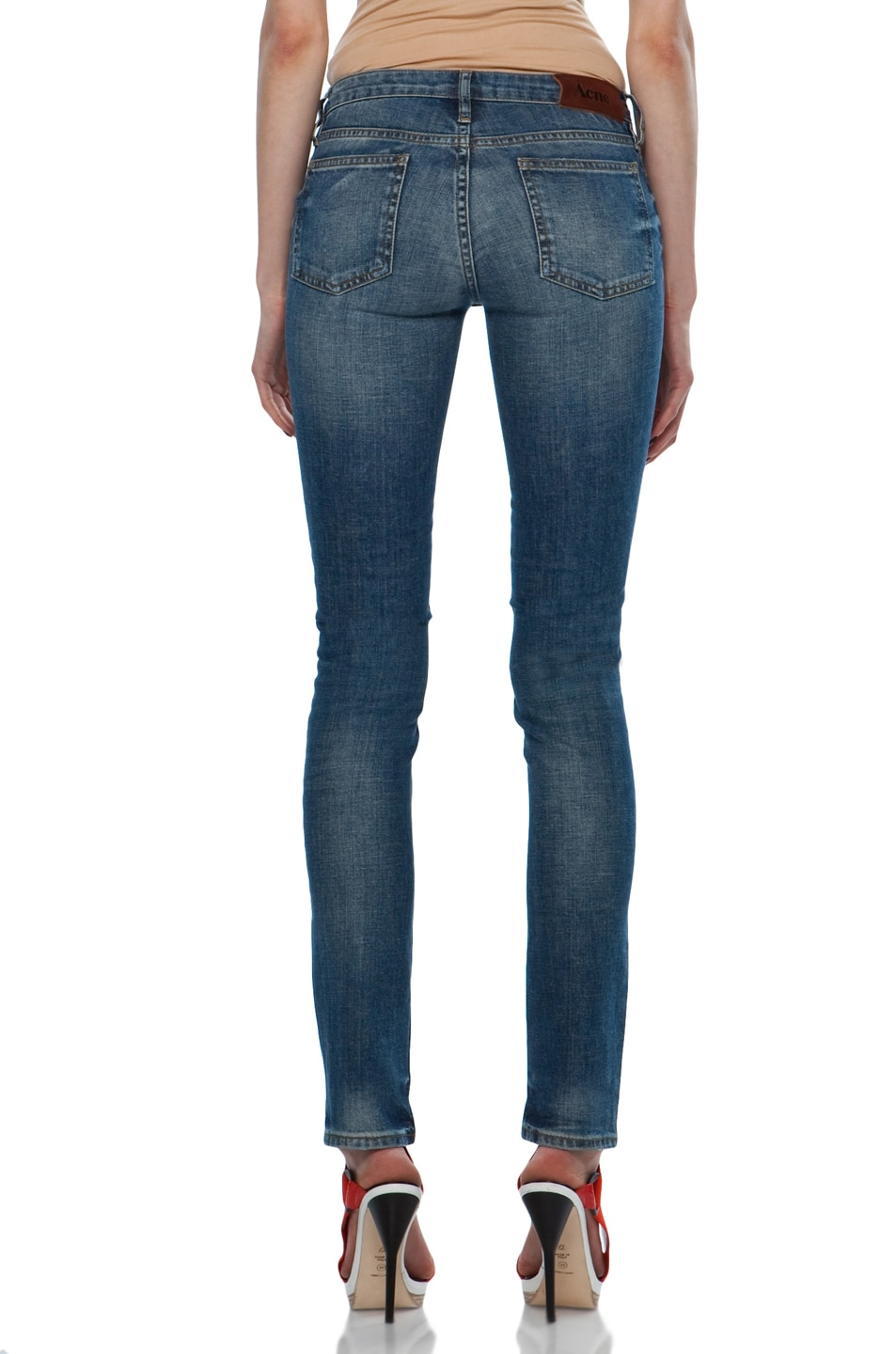 Image 4 of Acne Studios Kex Jeans in Vintage