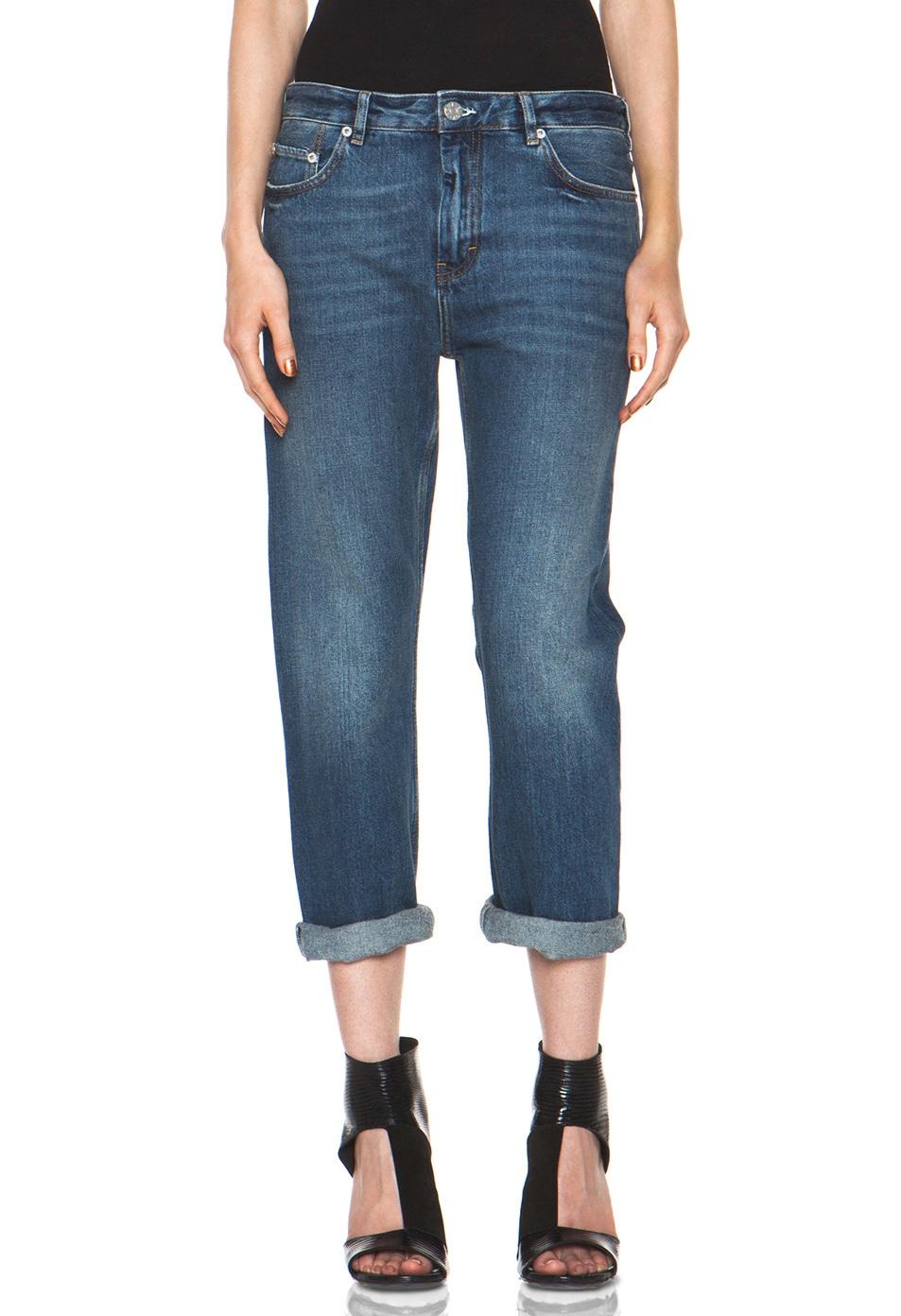 Image 1 of Acne Studios Pop Jean in Vintage Blue