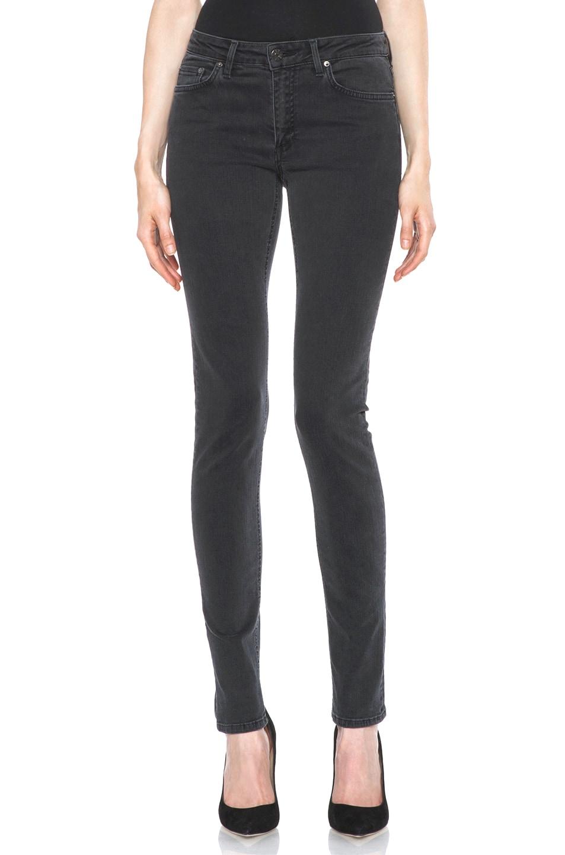 Image 1 of Acne Studios Skin 5 Jean in Used Black 9cdc70c9821